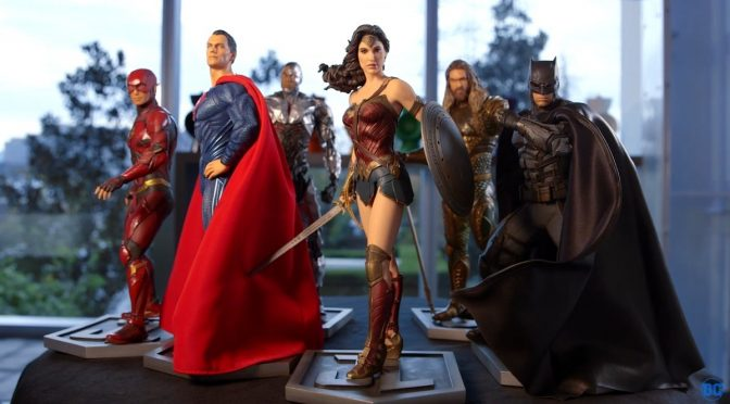 new justice league statues