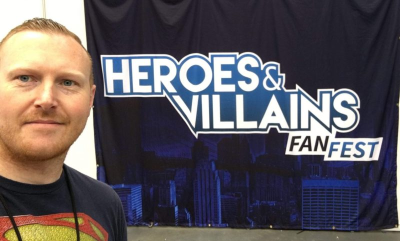 DC World Report Of Heroes & Villains Fanfest London