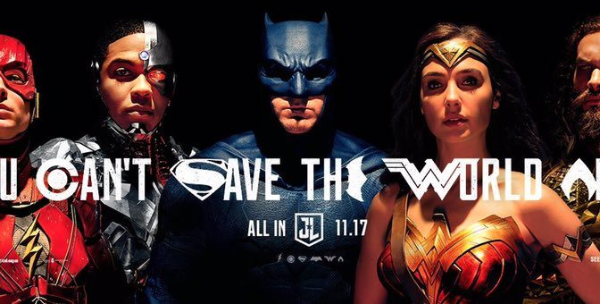 New Justice League Trailer is Here