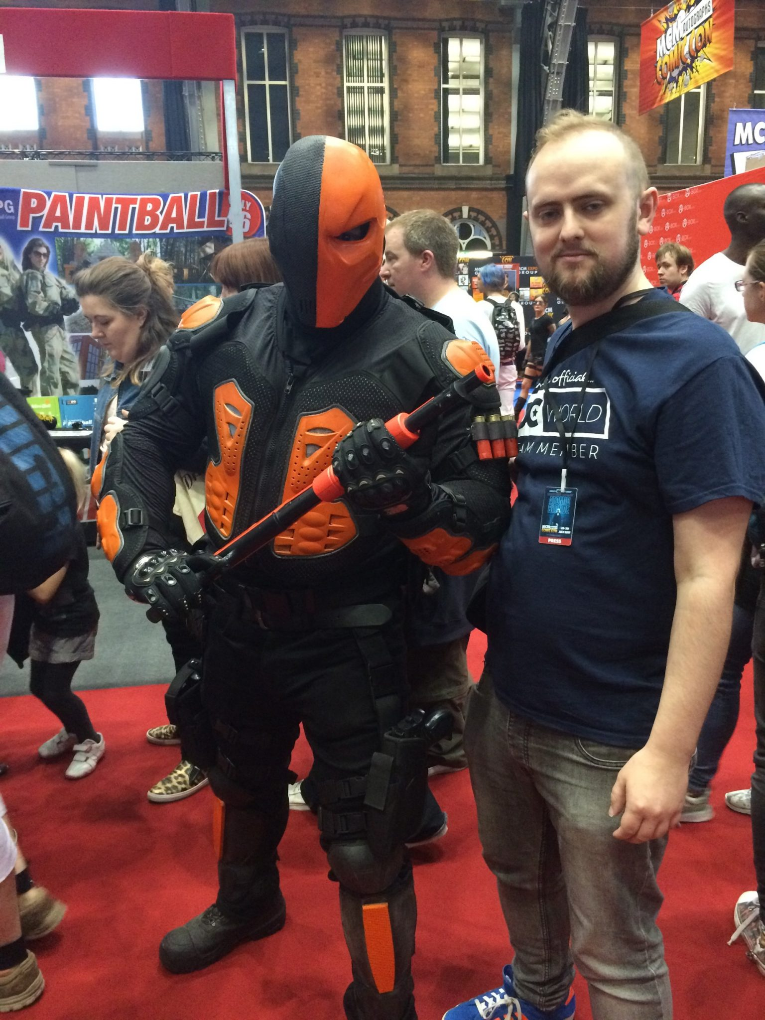 Deathstroke cosplayer - MCM Manchester