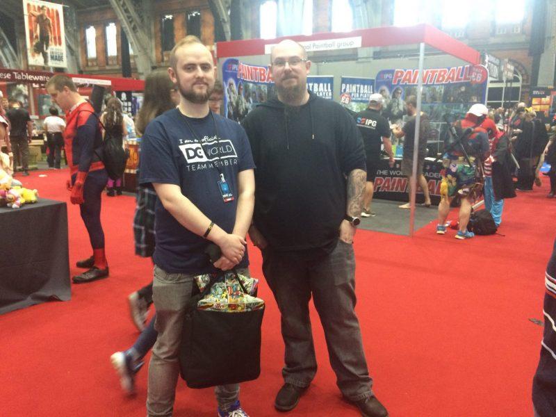 Ben Wake - MCM Comic Con Manchester Competition Winner