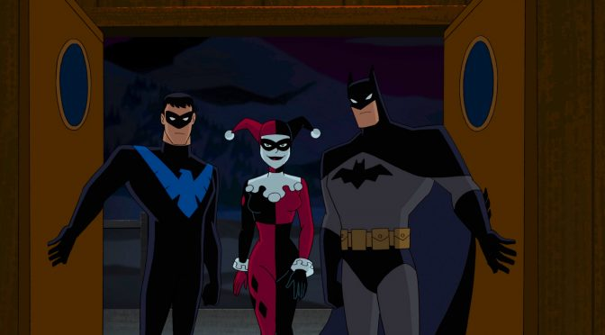 THE EVOLUTION OF HARLEY QUINN- BATMAN & HARLEY ON DVD