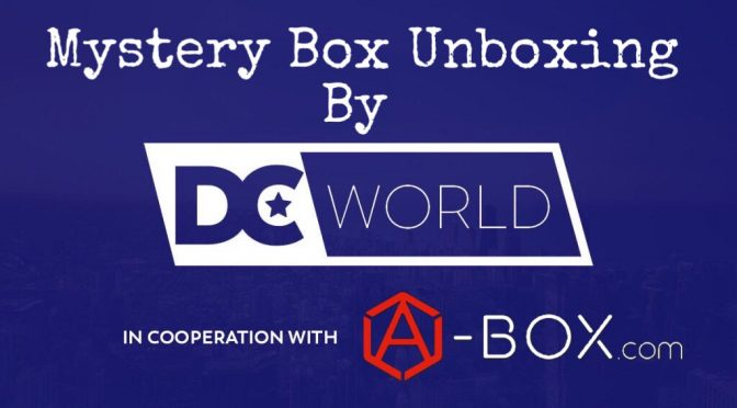 DC WORLD FIRST UNBOXING Video for A-BOX.COM BOXES