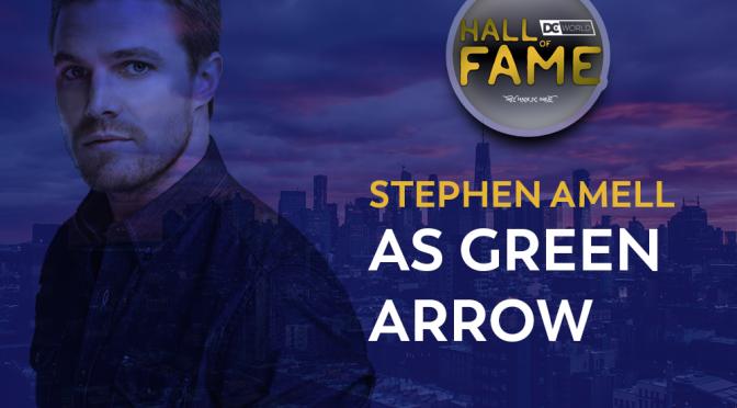 HOF: September Entrant #2  – Stephen Amell as Green Arrow/Oliver Queen