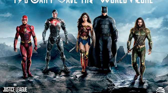 New Justice League Posters and Trailer Date