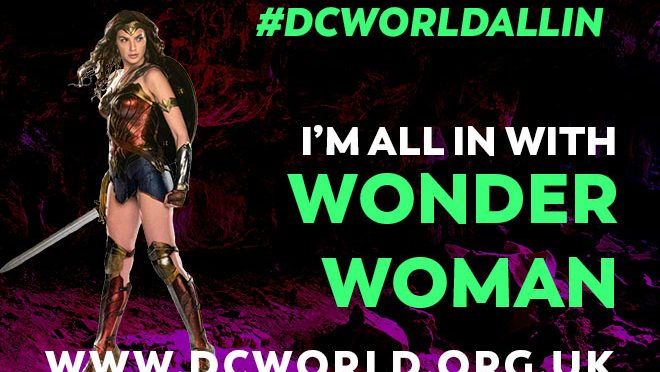 DCWorld are all in, are you? – Special shareable images!