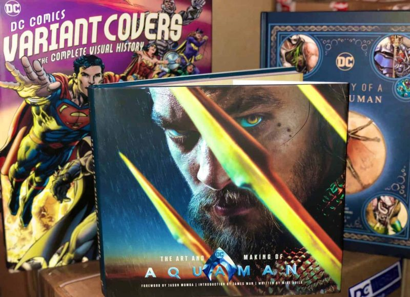 The Art and Making of Aquaman Book Unboxing