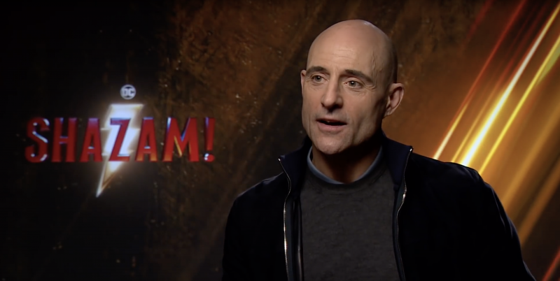 Interview with Mark Strong aka Dr Sivana from Shazam