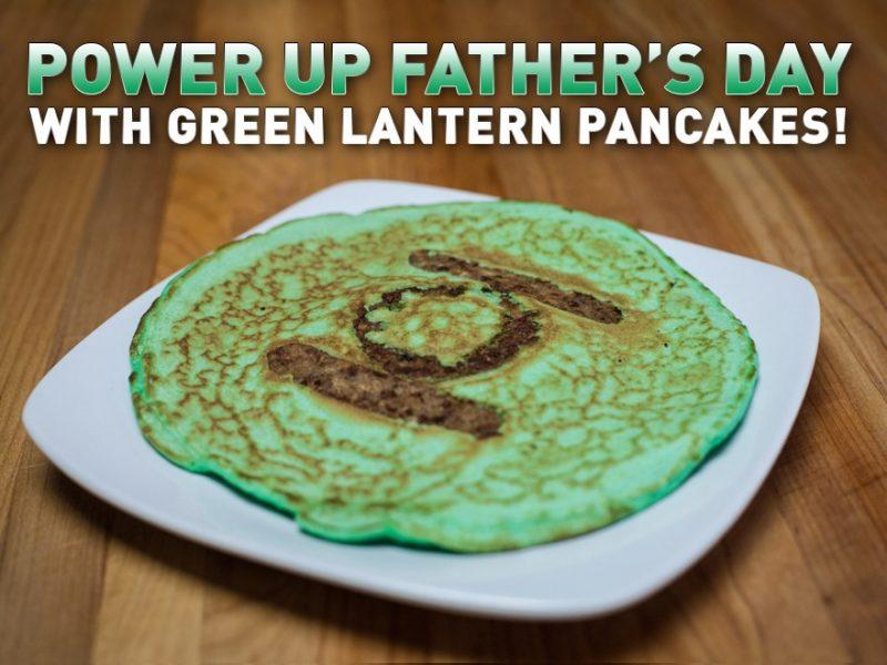 DC Comics own Green Lantern Pancake Recipe