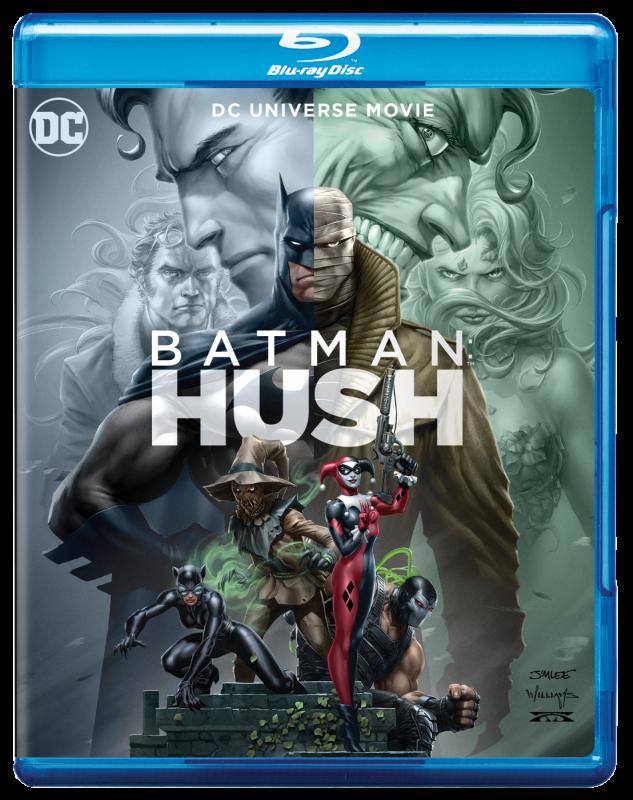 WIN BATMAN: HUSH ON BLU-RAY TM - DC World