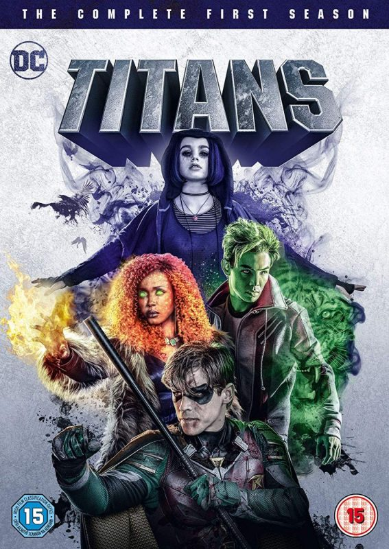 TITANS SEASON ONE OUT ON DVD & BLU-RAY