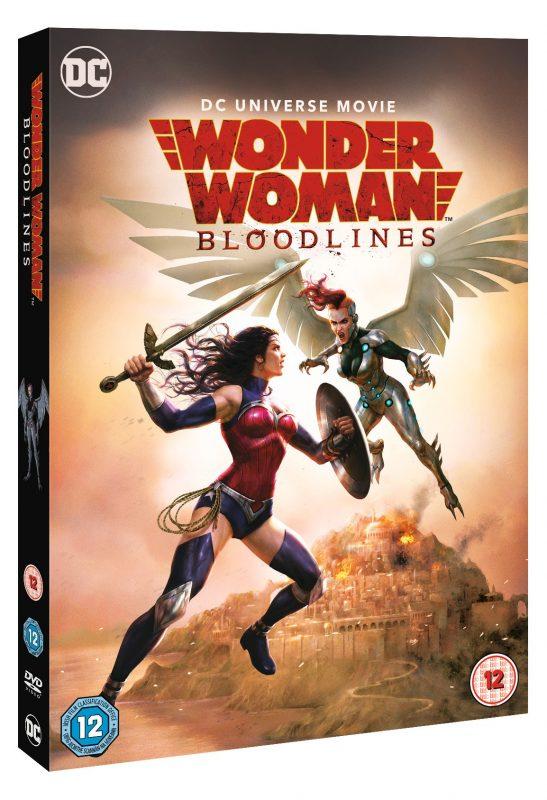 WIN WONDER WOMAN BLOODLINES ON DVD