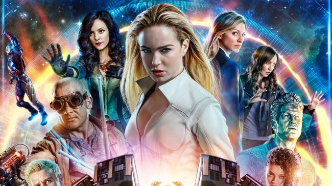WIN LEGENDS OF TOMORROW SEASON 4 ON DVD