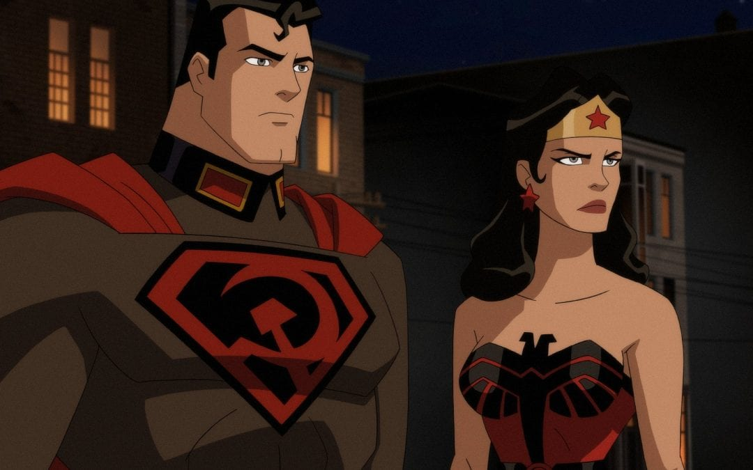 Superman Red Son : Sam Liu Interview.