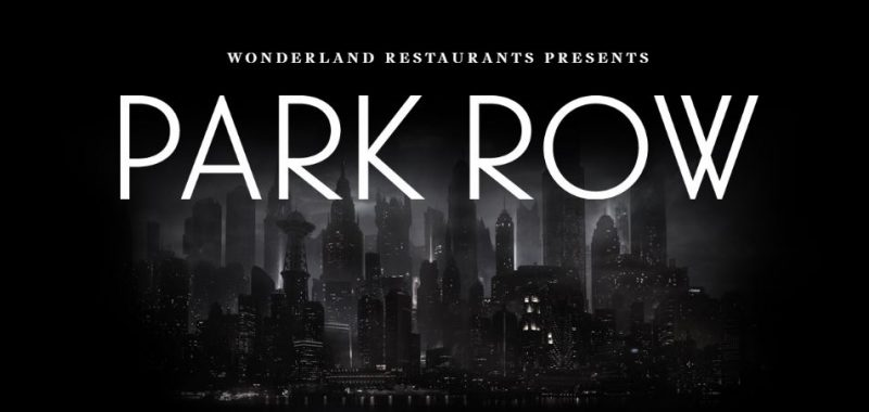 World's First DC Immersive Restaurant, 'Park Row', Coming To London